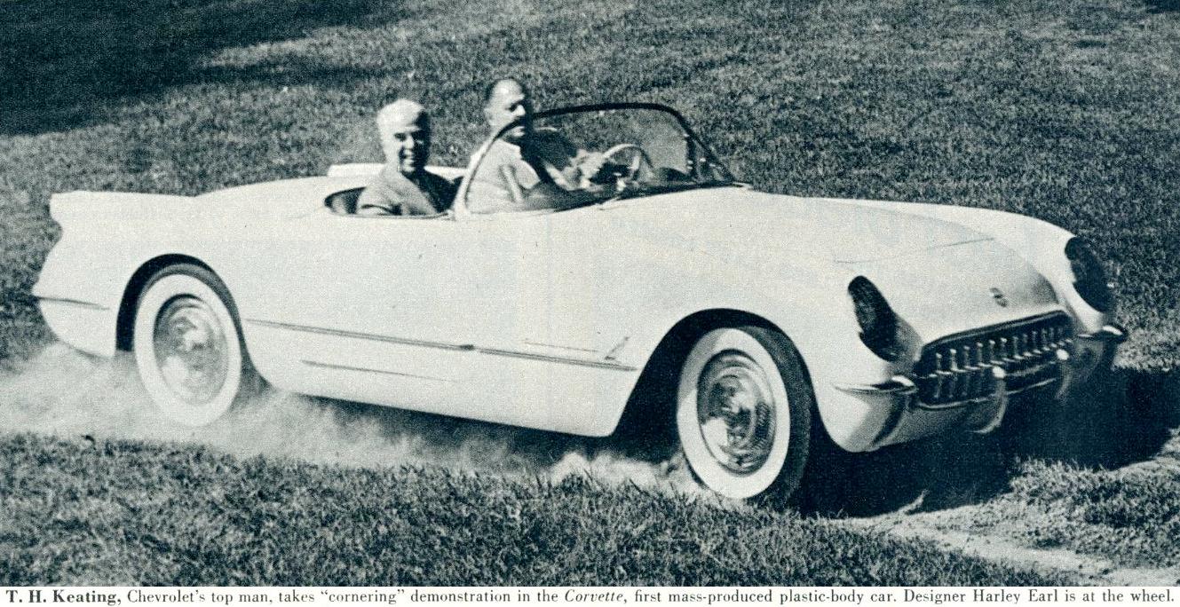 corvette Historical Fact – Who is the father of the Corvette HJEKeatingCorvette